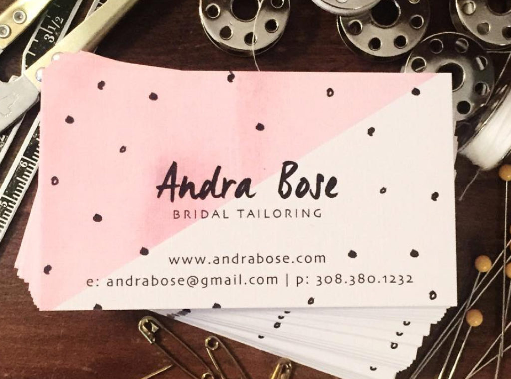 Contact Information for Andra Bose Bridal Tailoring